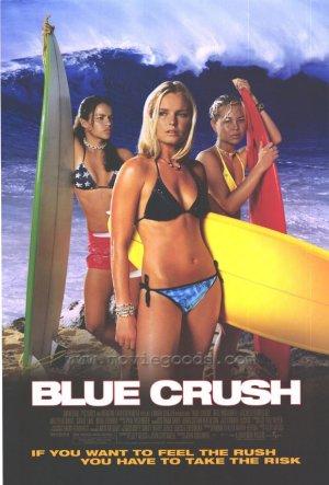Blue Crush Single Sided Original Movie Poster 27x40