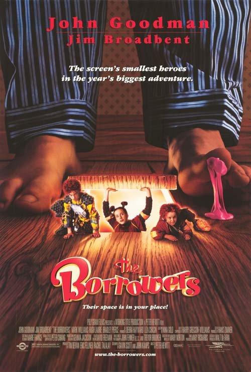 Borrowers Single Sided Original Movie Poster 27x40