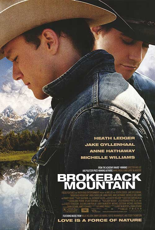 Brokeback Mountain Double Sided Original Movie Poster 27x40