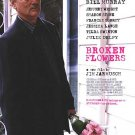 Broken Flowers Version A Double Sided Original Movie Poster 27x40