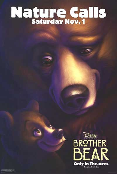 Brother Bear Version A  Double Sided Original Movie Poster 27x40
