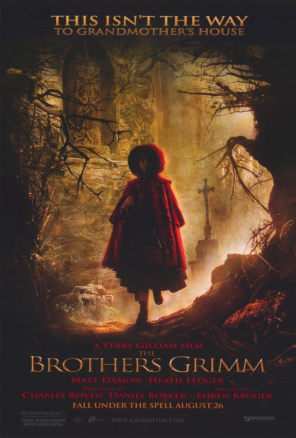 Brothers Grimm Small Girl  Double Sided Original Movie Poster 27x40