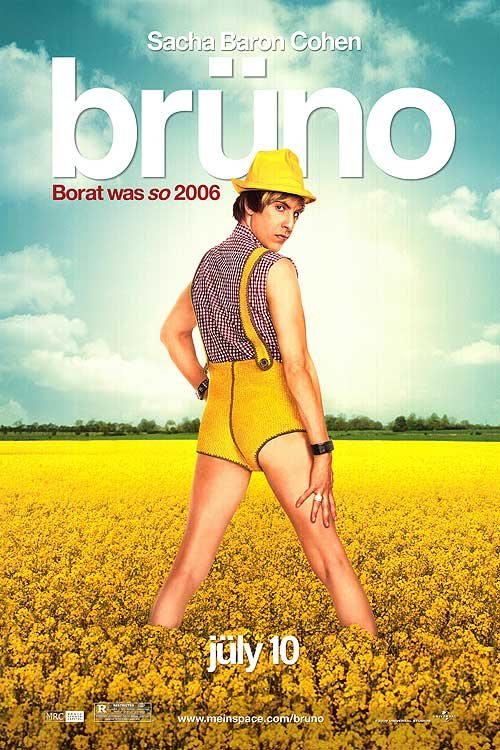 Bruno Original Movie Poster Double Sided 27x40