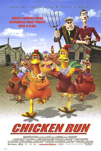Chicken Run Regular Double Sided Original Movie Poster 27x40