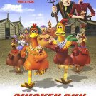 Chicken Run Regular Double Sided Original Movie Poster 27x40