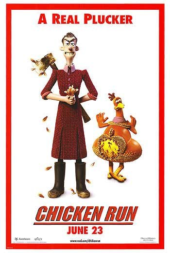 Chicken Run (Real Plucker) Double Sided Original Movie Poster 27x40