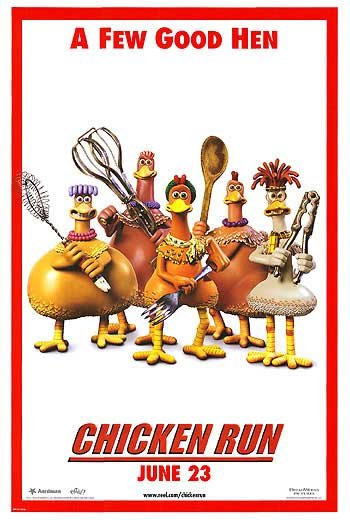 Chicken Run (Few Good men) Double Sided Original Movie Poster 27x40