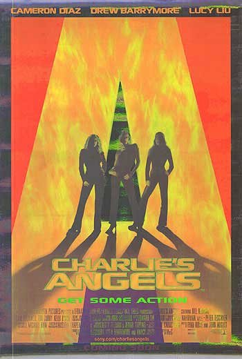 Charlie's Angel Aluminum Foil Single Sided Original Movie Poster 27x40