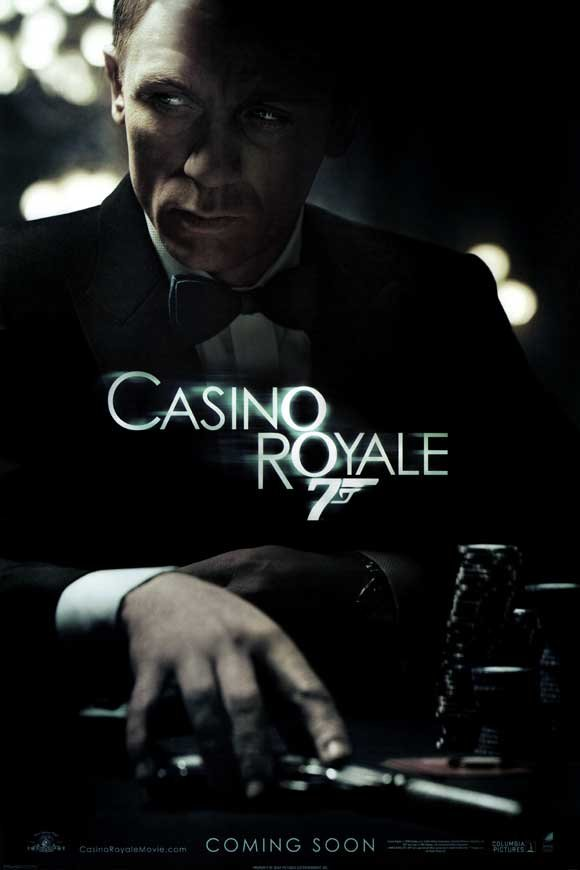 Casino Royale Advance Double Sided Original Movie Poster 27x40