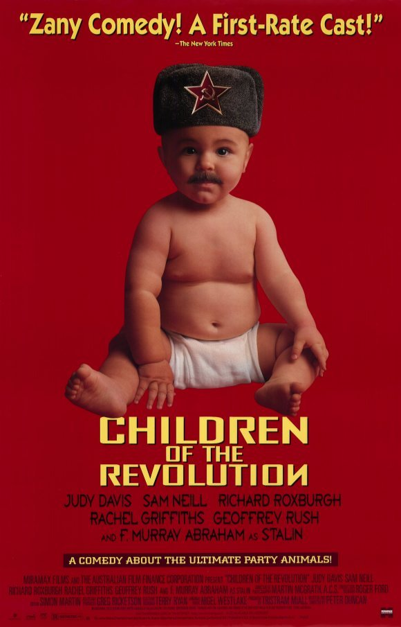 Children of the Revolution Original Movie Poster Single Sided 27x40