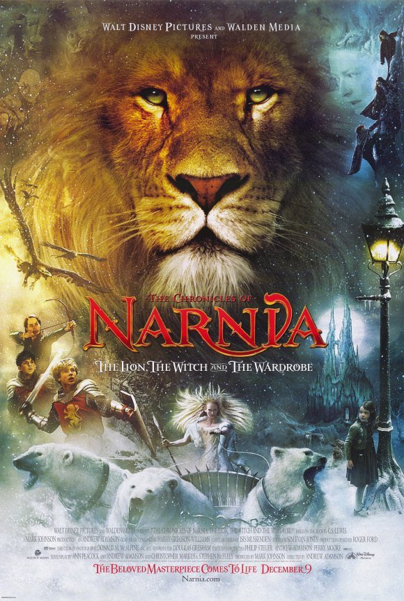 Chronicles of Narnia: The Lion, The Witch and the Wardrobe 27X40 inches Movie Poster DOUBLE SIDED