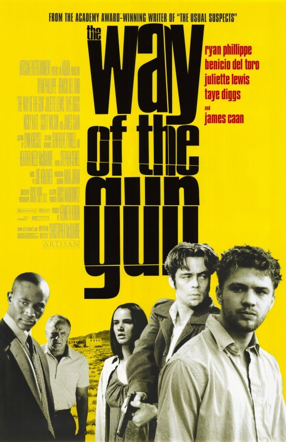 Way of the Gun Original Movie Poster Single Sided 27 X40