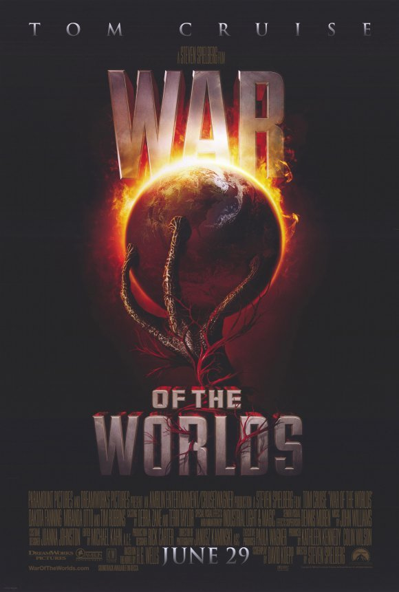 War of the Worlds Version C Movie Poster Double Sided 27 X40 Original