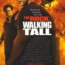 Walking Tall International Movie Poster Double Sided 27 X40 Original