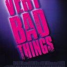 Very Bad Things Movie Poster Single Sided 27 X40 Original