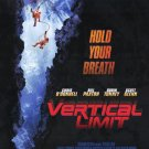 Vertical Limit Movie Poster Single Sided 27 X40 Original