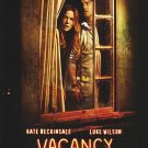 Vacancy Regular Original Movie Poster Double Sided 27 X40