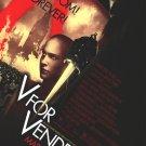 V For Vendetta Regular Original Movie Poster Double Sided 27 X40