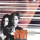 Unlawful Entry Original Movie Poster Double Sided 27 X40