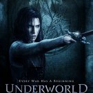 Underworld : Rise of the Lycans Version B Original Movie Poster Double Sided 27 X40