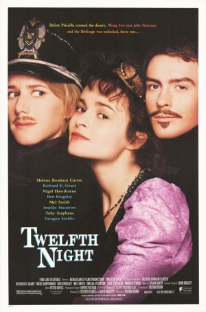 Twelfth Night Original Movie Poster Double Sided 27 X40