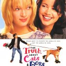 Truth About Cats & Dogs Original Movie Poster Single Sided 27 X40