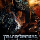Transformers : Revenge of The Fallen Version B Original Movie Poster Double Sided 27 X40
