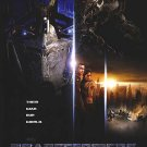Transformers International Original Movie Poster Double Sided 27 X40