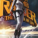 Tom Raider 2 Advance Original Movie Poster Double sIDEed 27 X40