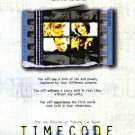 Time Code Original Movie Poster Single Sided 27 X40