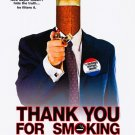 Thank You For Smoking Regular Original Movie Poster Double Sided 27 X40