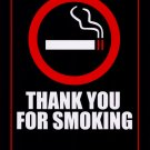 Thank You For Smoking Advance Original Movie Poster Double Sided 27 X40
