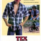 Tex Original Movie Poster Single Sided 27 X40
