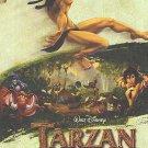 Tarzan Version C Original Movie Poster Double Sided 27 X40
