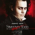 Sweeney Todd  Original Movie Poster Double Sided 27 X40