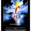 Superman I Original Movie Poster Single Sided 27 X40
