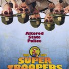 Super Troopers Original Movie Poster Double Sided 27 X40