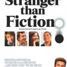 Stranger Than Fiction Intl Original Movie Poster Double Sided 27 X40