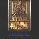 Star Wars Trilogy 1997 Original Movie Poster Single Sided 27 X40