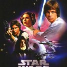 Star Wars Trilogy : New Hope Dvd Poster Orig Movie Poster Single Sided 27 X40