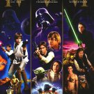 Star Wars Trilogy :  Dvd Poster Orig Movie Poster Single Sided 27 X40
