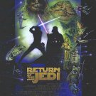 Star Wars Special Edition 1997 Return of the Jedi Original Movie Poster Double Sided 27 X40