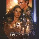 Star Wars Episode II : The Phantom Menace Regular Original Movie Poster Double Sided 27 X40