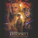 Star Wars Episode 1 : The Phantom Menace (Spanish) Original Movie Poster Double Sided 27 X40