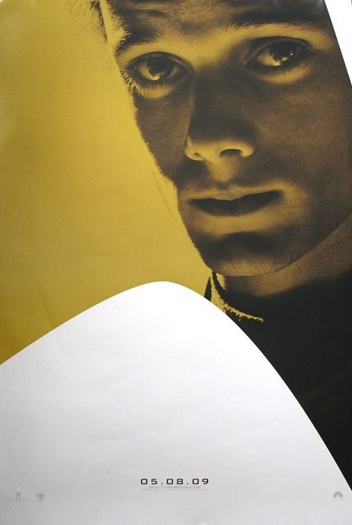 Star Trek XI Version G Original Movie Poster Single Sided 27 X40