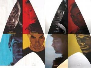 Star Trek XI 8 Pieces Per Set Original Movie Poster Double Sided 27 X40