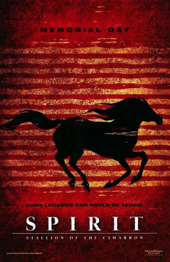 Spirit : Stallion Of The Cimarron Red  Movie Original Movie Poster Double Sided 27 X40