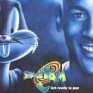 Space Jam  Original Movie Poster Single Sided 27 X40