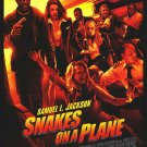 Snakes On The plane Regular Original Movie Poster Double Sided 27 X40