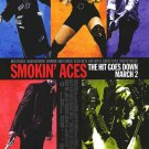 Smokin' Aces Original Movie Poster Double Sided 27 X40